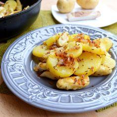 Fotografie článku: Recept na staročeskou uhlířinu krok za krokem No Salt Recipes, Potato Salad, Foodies, Potatoes, Treats, Vegetables, Ethnic Recipes, Sweet Like Candy, Potato