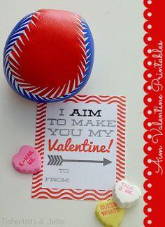 Aim valentines FREE Printables #ValentinesDay #FreePrintables