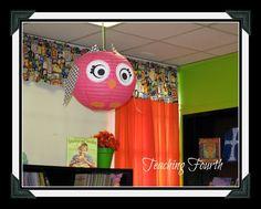 Classroom Decorations! Owl Lanterns!