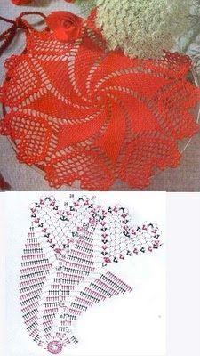 Crochet World added a new photo. Filet Crochet, Art Au Crochet, Crochet Mat, Crochet Dollies, Crochet Doily Patterns, Crochet World, Crochet Home, Thread Crochet, Crochet Stitches