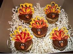 Thanksgiving cupcakes | Party Ideas | Pinterest