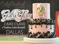 Gothic Glam Cake with Joshua John Russell – Dallas 2013