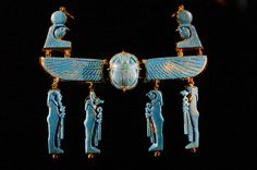 Ancient Egyptian jewellery at MONA by mnrolvr Ancient Egyptian Artifacts, Ancient Egyptian Jewelry, Ancient Egypt Art, Egyptian Scarab, Ancient History, Ancient Aliens, Egypt Jewelry, Old Jewelry, Emerald Jewelry