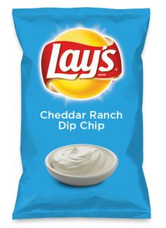 Wouldn't Cheddar Ranch Dip Chip be yummy as a chip? Lay's Do Us A Flavor is back, and the search is on for the yummiest flavor idea. Create a flavor, choose a chip and you could win $1 million! https://www.dousaflavor.com See Rules.