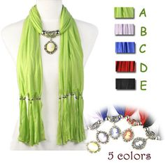 Beauty portrait resin alloy pendant scarf charms jewelry scarves woman