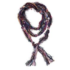 Skinny Scarf Maroon Gold Scarf Fringe Scarf by jamesdillehay