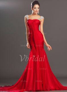 Shop gorgeous evening dresses at Vbridal. Find 2017 latest style evening gowns and discount evening dresses up to off. We provides huge selection of Cheap evening dresses for your choice. Chiffon Evening Dresses, Cheap Evening Dresses, Mermaid Evening Dresses, Chiffon Dress, Evening Gowns, Prom Dresses, Red Chiffon, Gown Dress, Dress Prom