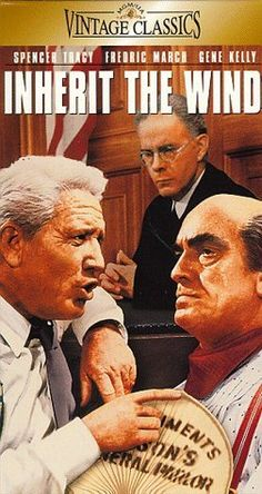 Inherit the Wind (1960) - Based on a real-life case in 1925, two great lawyers argue the case for and against a science teacher accused of the crime of teaching evolution.