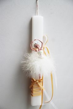 Ballerina Easter candle girls' Greek Easter by ArktosCollectibles