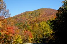 8) Two hours of Tennessee road stretch into the Cherohala Skyway, where the mountainous view and stunning sunrises will give you a reason to come back again and again.