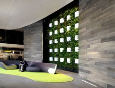 wall cladding foyer design - Google Search Office Lobby, Office Space Design, Public Seating, Foyer Design, Waiting Area, Wall Cladding, Wall Treatments, Wall Partition, Receptions