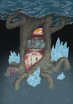 Arcade Deus Of Dark Forest, 2014.Personal Work.