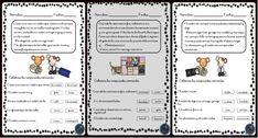 Fichas para trabajar la comprensión lectora - Imagenes Educativas Homeschool, Notebook, Bullet Journal, F21, Alphabet, Preschool Spanish, Homeschooling, Exercise Book, The Notebook