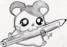 Resultado de imagen para dibujos a lapiz Tumblr Drawings, Art Drawings Sketches, Disney Drawings, Amazing Drawings, Easy Drawings, Bullet Journal Art, Kawaii Chibi, Cute Animal Drawings, Pretty Art