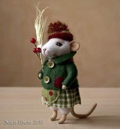 White mouse by By Zhila Irina | Bear Pile