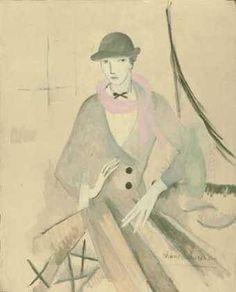 L'écharpe rose. Marie Laurencin