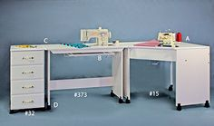 Sewing Tables - Modular Sewing / Embroidery Table