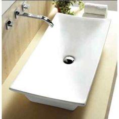 """Nameeks Caracalla CA4277-No Hole 31-11/12"""" Ceramic Vessel Bathroom Sink"""