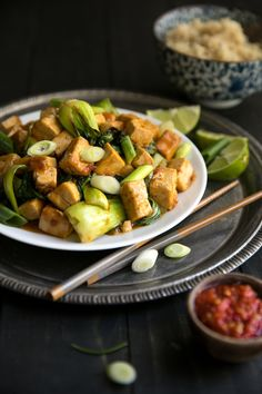 This Spicy Stir Fried Tofu with Bok Choy is the perfect healthy and delicious meal... Read Post