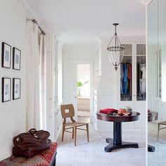 Traditional Dressing Room/Closet by Peter Dunham Design