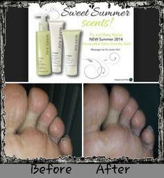 Mary Kay Satin Hands is not only for your hands but also for your feet. This is the before and after of the first application on one male model. Get Instant Results!! GREAT FOR EVERYONE!!  contact me @ www.MaryKay.com/YvetteSantana