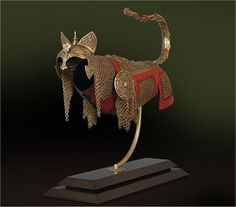Cat Armor - For kitties wishing to charge into battle in safety and style