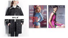 Da oggi sono in edicola il numero settimanale di TU STYLE e del mensile AMICA (copertina OTTOBRE) con l'uscita pubblicitaria di EKLE'  #eklestyle www.ekle.it