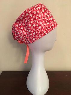 NattyScrubs Spring Love Scrub Hat Scrub Cap Surgical Cap 3ce62c4da61