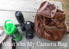 What's in My Camera Bag Part 1
