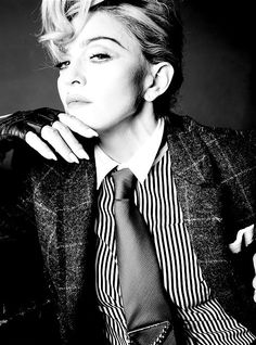 Madonna photographed by Tom Munro for L'uomo Vogue, 2014