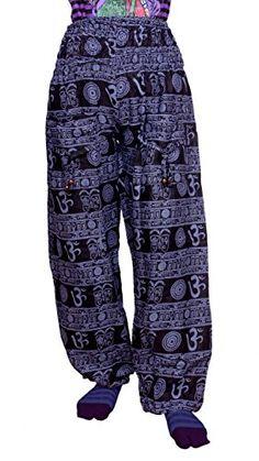Krishna Mart Casual Om Bohemian Long Pant in Cotton Fabric with Elastic Waist Krishna Mart India http://www.amazon.com/dp/B00T0BA1PO/ref=cm_sw_r_pi_dp_YTRBvb1D2RWWW
