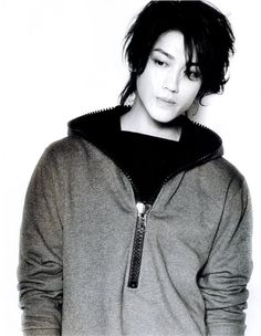 Jin Akanishi via awesomelyplain.tumblr.com  Picture comes from Easy Magazine.