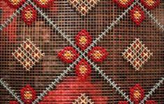 Строительная сетка вместо канвы, или Как уменьшить затраты на материалы в вышивке - Ярмарка Мастеров - ручная работа, handmade