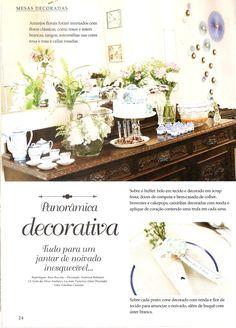 Revista Mesas Decoradas - 2015 com produtos E&C Company