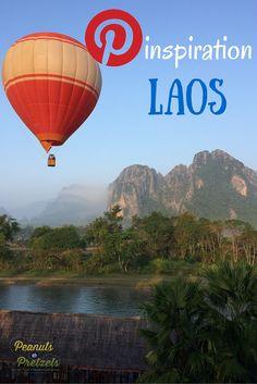 Travel Pinspiration - Laos - Peanuts or Pretzels