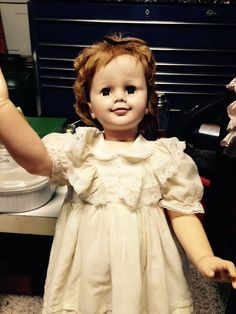 """1959 Authentic Vintage 36"""" Madame Alexander Joanie doll (Doll find #1)"""