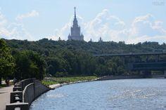 """На территории Парка Горького расположена особо охраняемая природная территория - """"Воробьевы горы""""."""