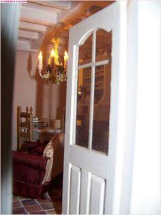 """Par la porte de la cuisine de """"la vie en rose"""". Shabby Chic, French, Mirror, Furniture, Home Decor, Puertas, Kitchens, Decoration Home, French People"""