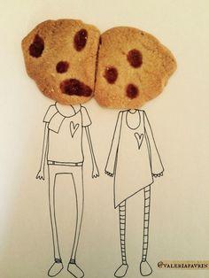 Testa di biscotto.