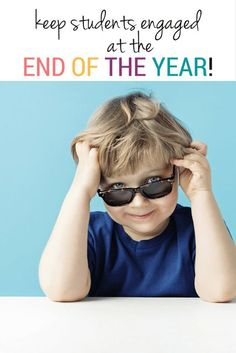 The end of the year is busy and stressful! Read these tips for keeping your students engaged, learning and having FUN all the way through the last day!