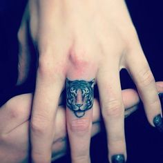 Pin for Later: 50 of the Most Popular Tattoo Designs For Chic Women Tiger