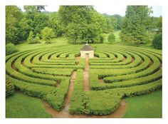 The labyrinth in New Harmony, Indiana. In 1824, Robert Owen, a Welsh-born industrialist, purchased New Harmony with plans to create a model community where education and social equality would be realized.    http://www.newharmony.biz/index.php