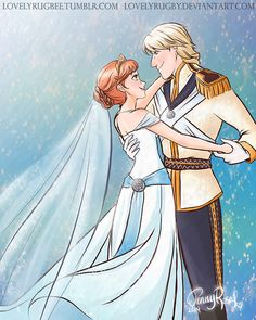 Frozen Wedding!!!! :D