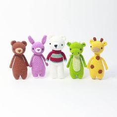 Crochet pattern by Little Bear Crochets: www.littlebearcrochets.com Bear with sweater pattern can be found in issue 51 of @simpcrochetmag ! #littlebearcrochets #amigurumi
