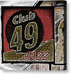All Jazzed Up Canvas Print by Marnie Patchett