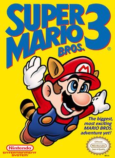 Though the original Super Mario Bros. is my favorite, I love the entire trilogy of these classic games.