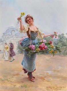 Louis Marie de Schryver #pintura