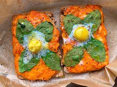 Tousty se sýrovou směsí a křepelčími vejci Avocado Toast, Breakfast, Morning Coffee