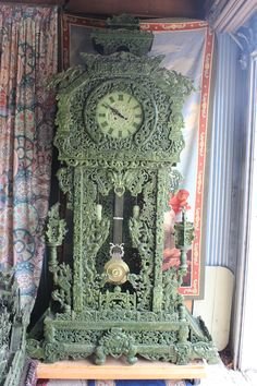 Jade Longcase Clock - Own a piece of history
