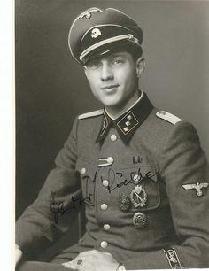 "SS Untersturmfuhrer Harry Lubbe , 1.SS Panzer Division ""LSSAH"""